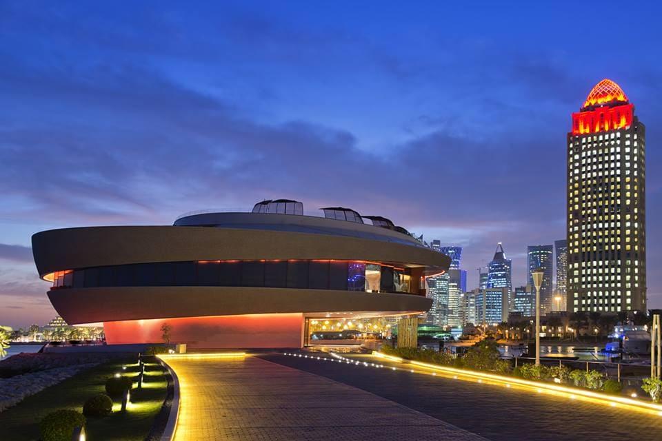 Italian lights in Doha