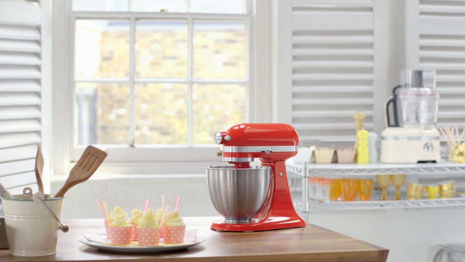 KitchenAid: the new Mini mixer