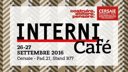 Interni Café at Cersaie 2016