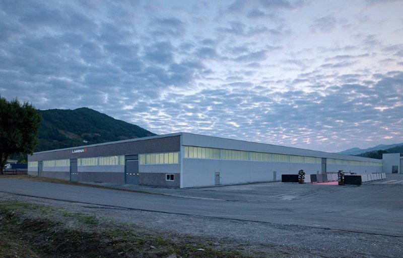 Laminam: new plant at Borgotaro