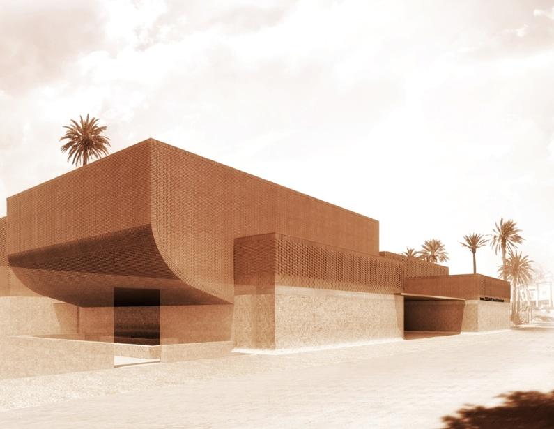 The new Yves Saint Laurent Museum in Marrakech