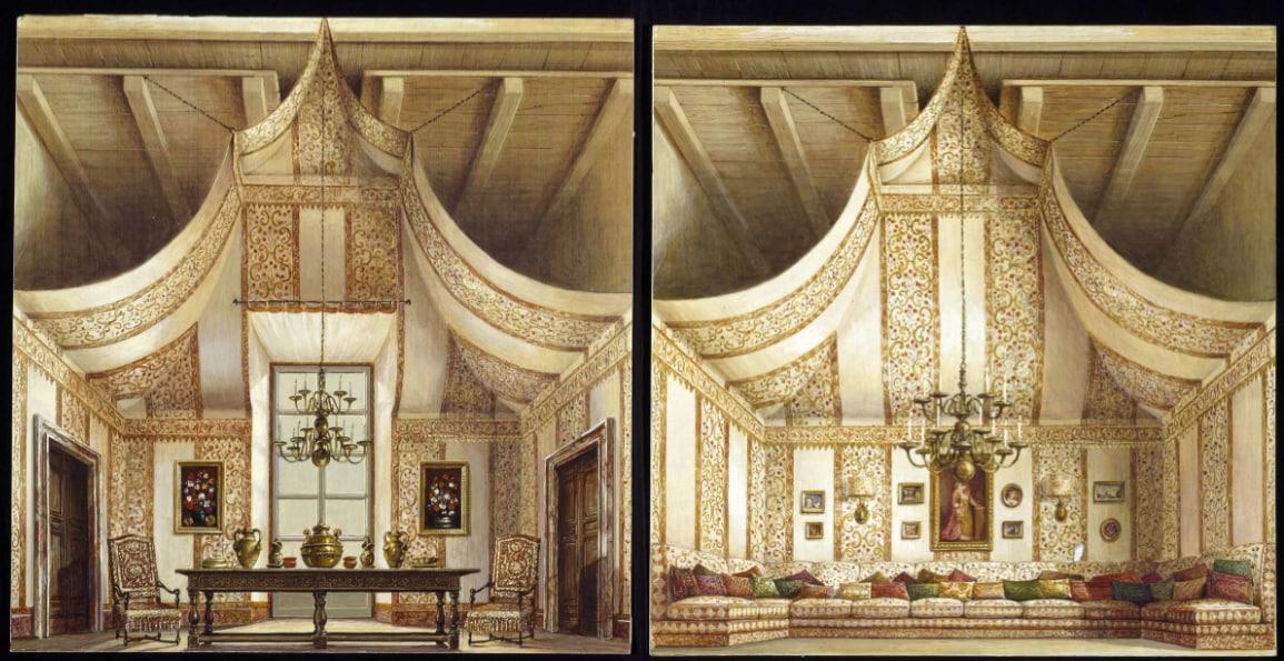 Tribute to Renzo Mongiardino (1916-1998), architect and set designer