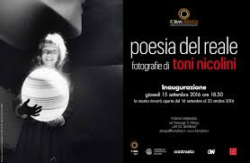 Poetry of the real. The photographs of Toni Nicolini