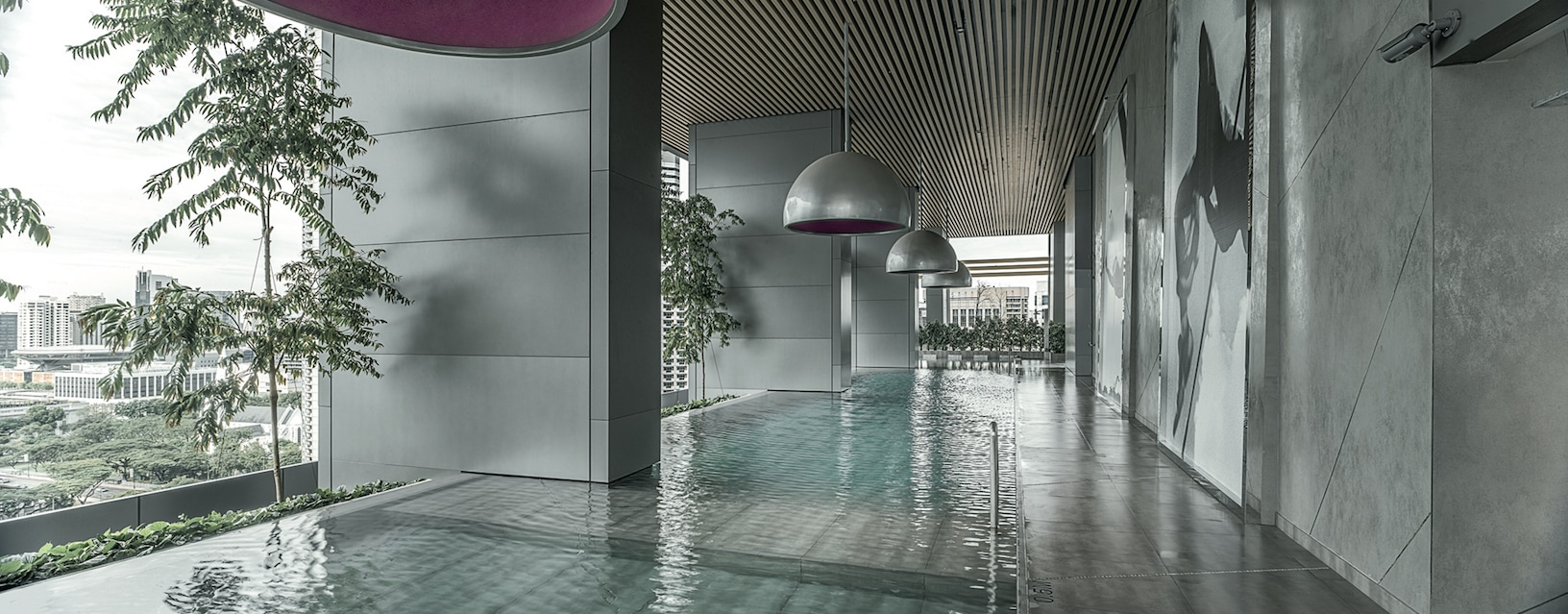 Laminam for South Beach Hotel in Singapore