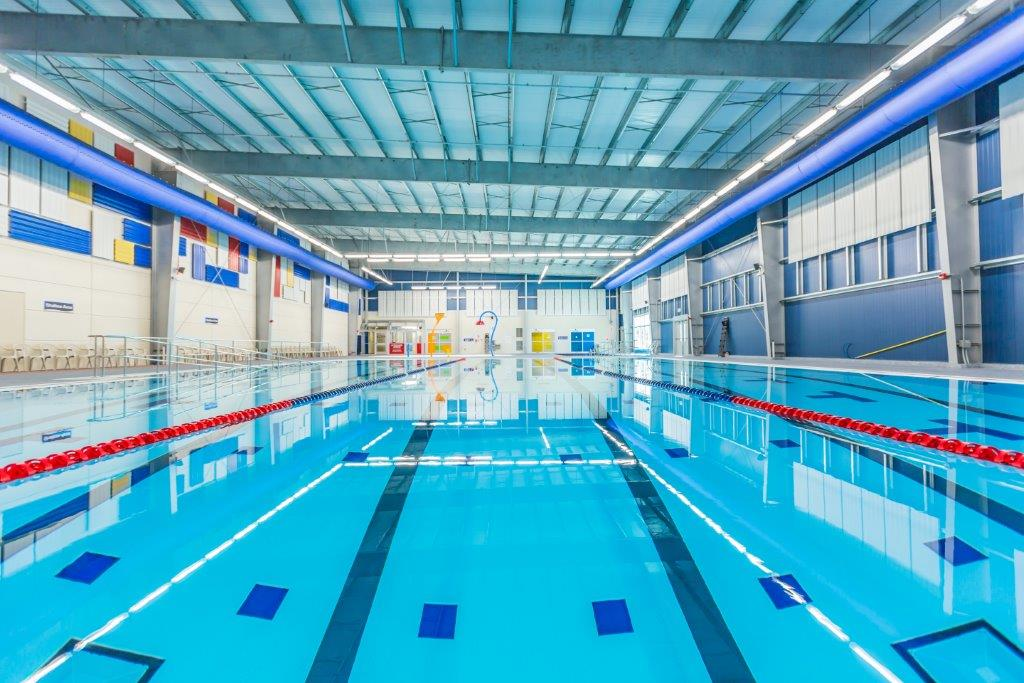 Myrtha Pools for world short-course swimming championship