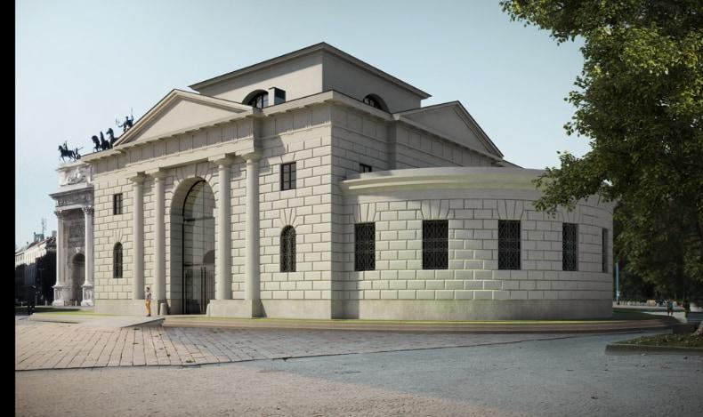 Rebirth of the lodges of Arco della Pace