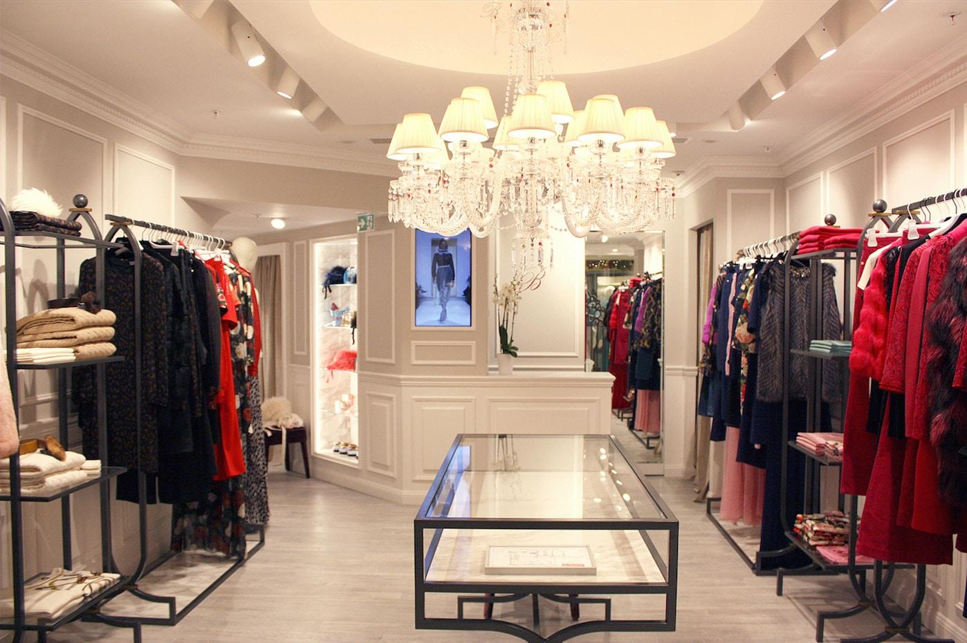 Blumarine updates the boutique in Monte Carlo