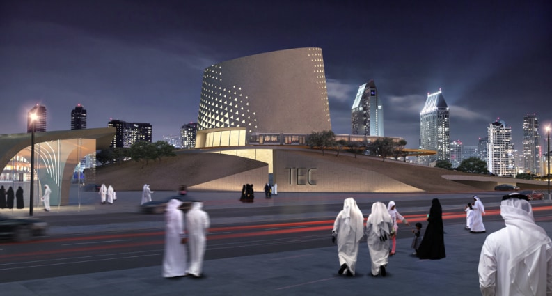 The new Transport Education Center in Doha