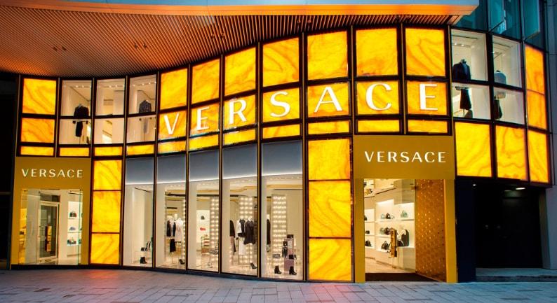 Versace in Hong Kong