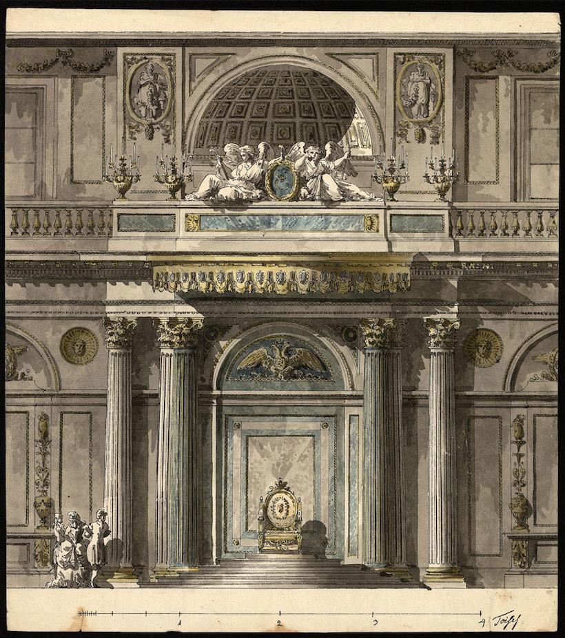 Giacomo Quarenghi. Architect at the court of the Czar