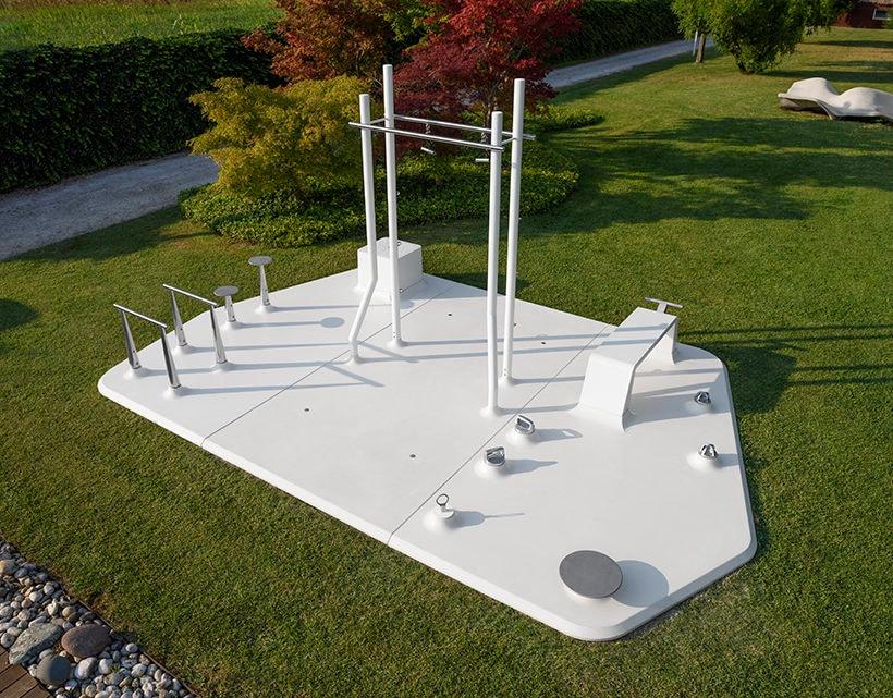 MyIsle, the Outdoor Gym Sculpture