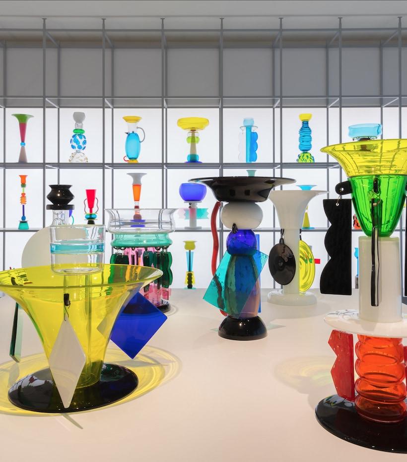Ettore Sottsass: glass