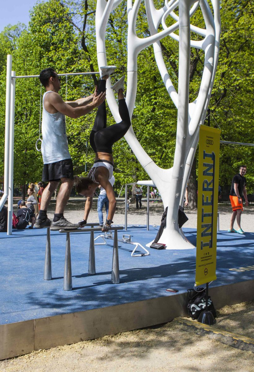 Design Fitness in the park