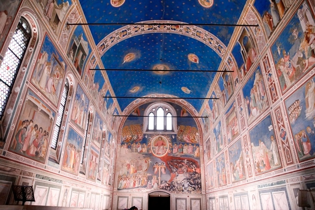 New light for Cappella degli Scrovegni