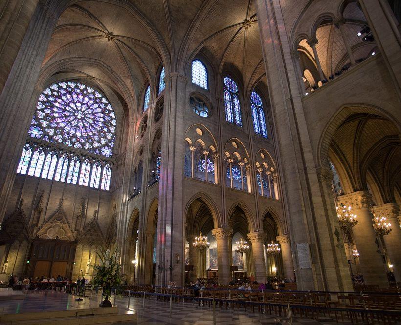 Targetti lights Notre-Dame de Paris