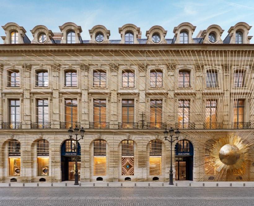 Maison Louis Vuitton Vendome in Paris