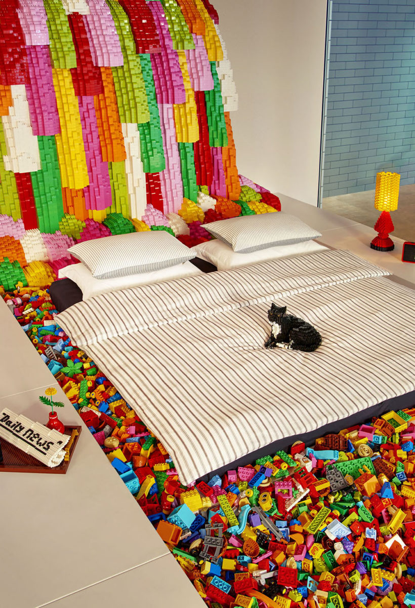 A night in Lego House