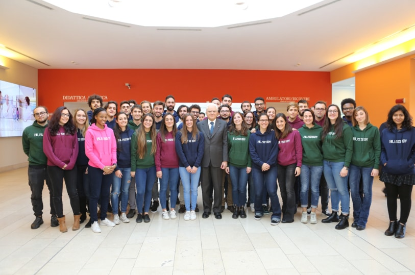 Opening of the campus of Humanitas University
