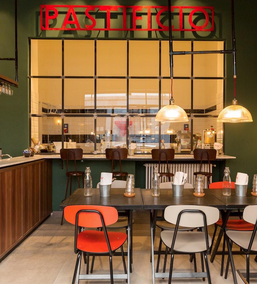 The pasta startup