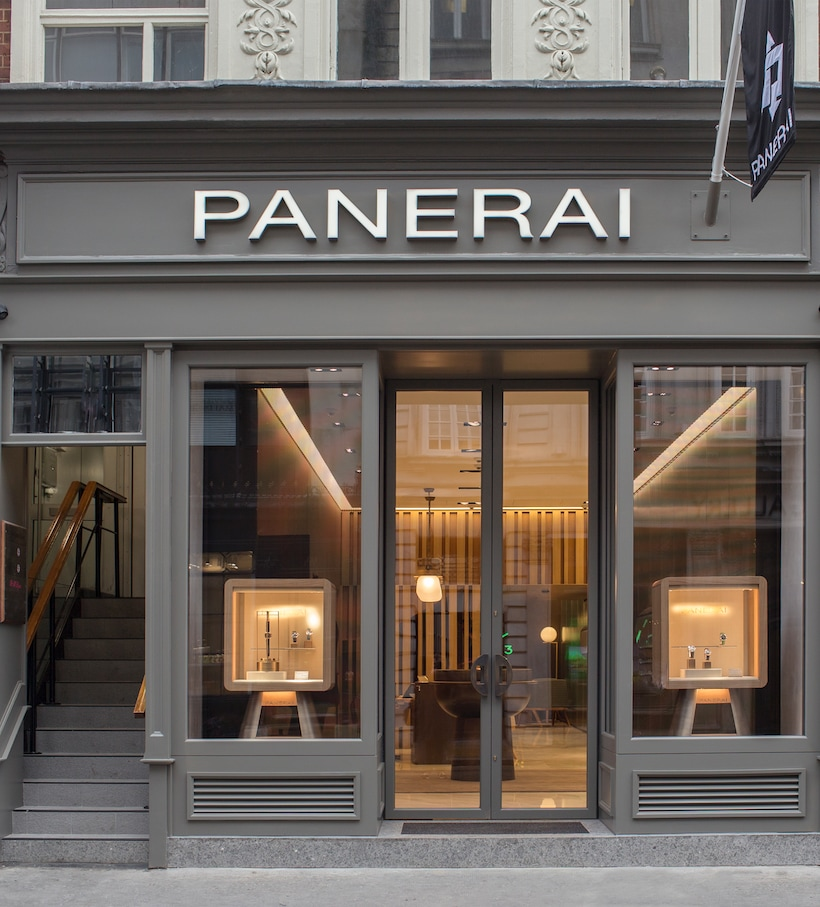 Panerai in London