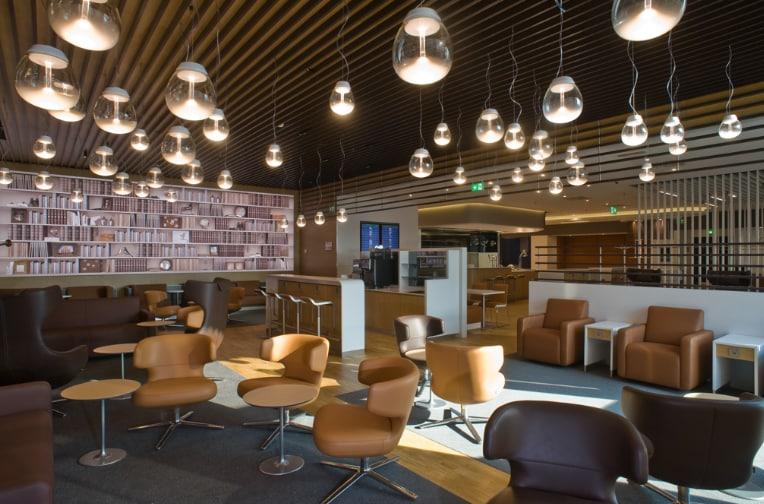 New Lufthansa Lounge at Milano Malpensa
