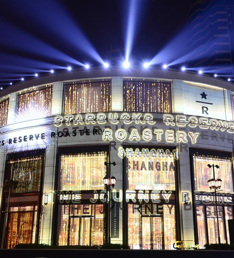 World's largest cafe