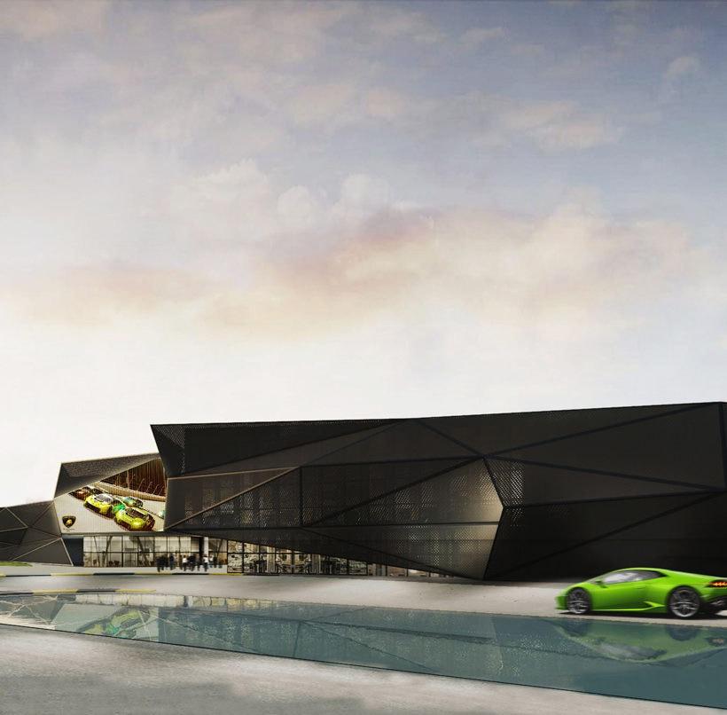 Compound Lamborghini