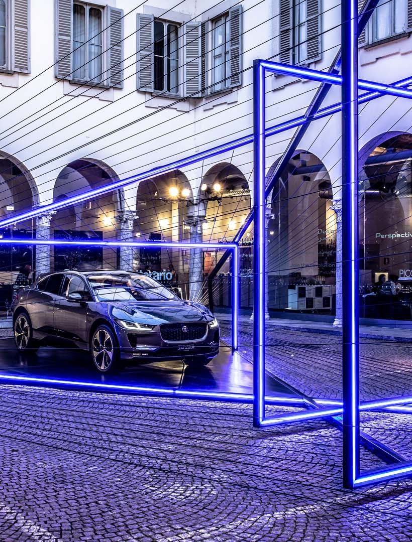 Jaguar and Land Rover at the FuoriSalone
