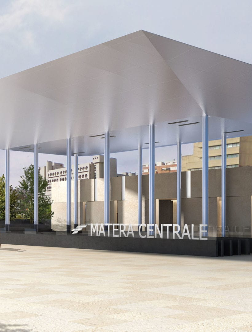 The new Matera station