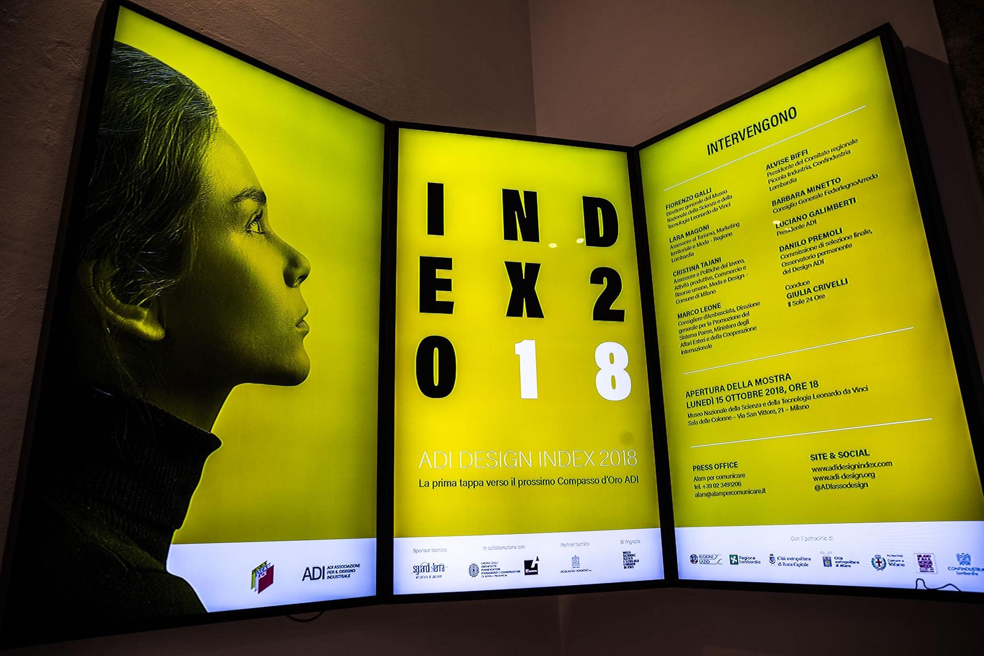 Mostra Design Milano 2018 adi design index 2018 - interni magazine