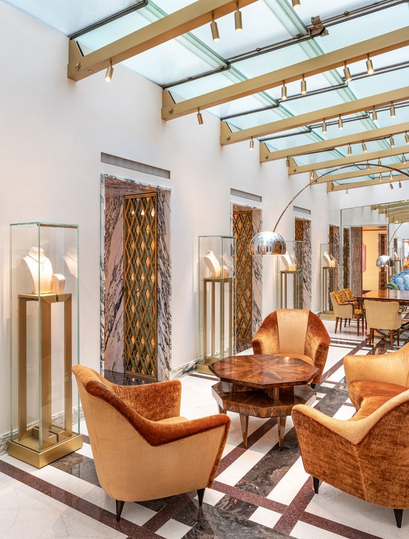 Bulgari pays tribute to Milanese design