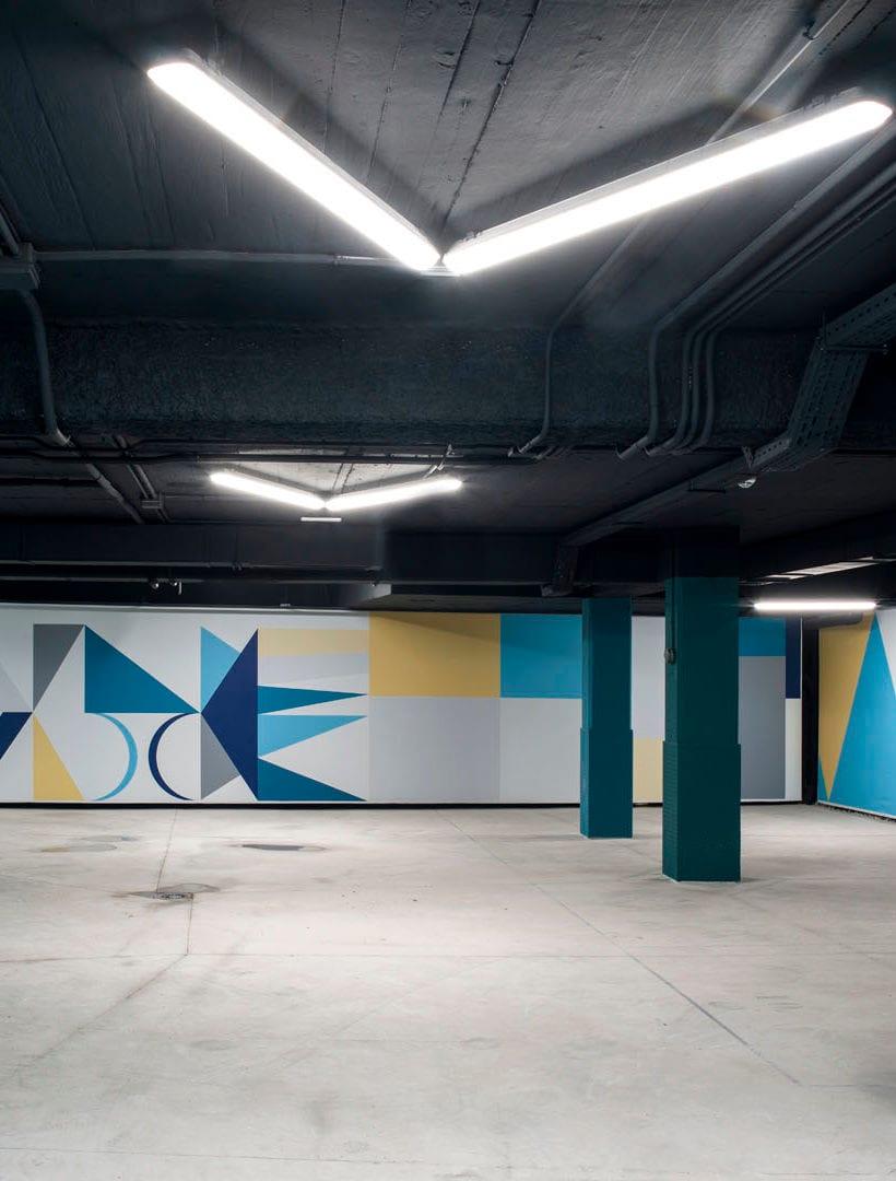 Gio Ponti parking garage
