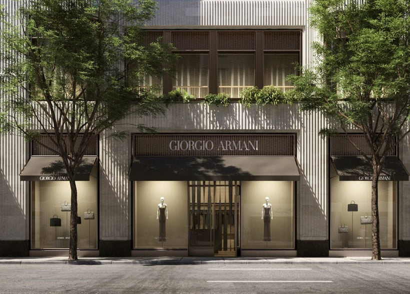 New Armani Madison Avenue