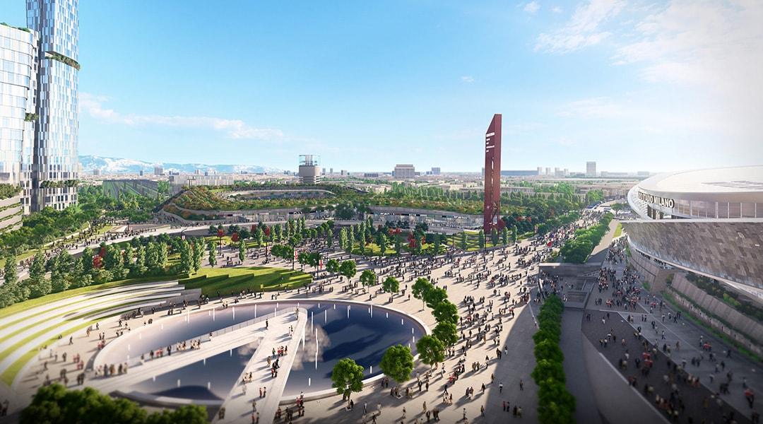 Nuovo Stadio Milano - Masterplan (1)