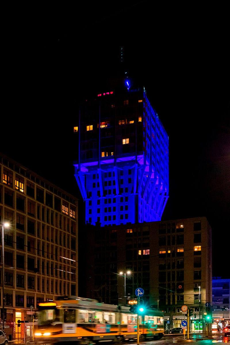 Torre Velasca Blu