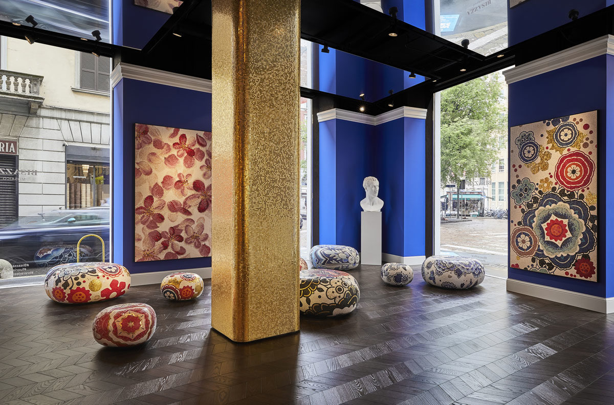 7. BISAZZA New Milan Flagship Store