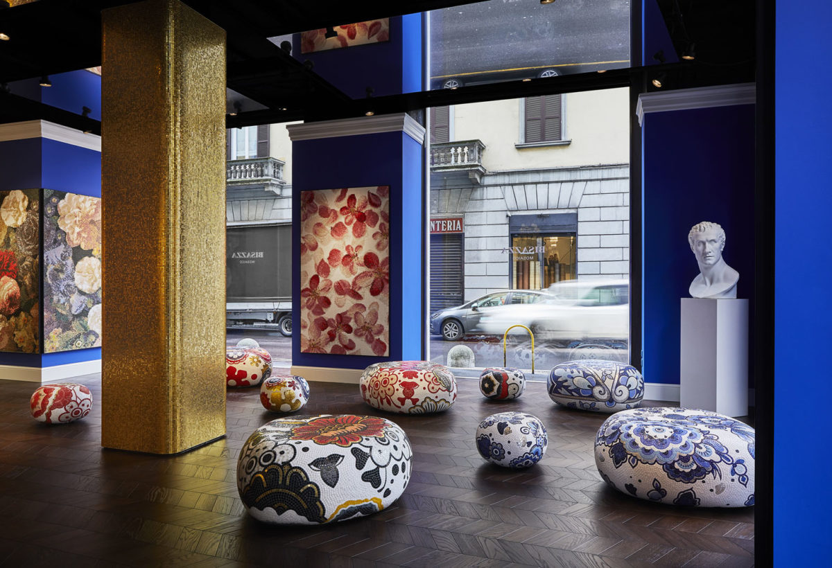 9. BISAZZA New Milan Flagship Store