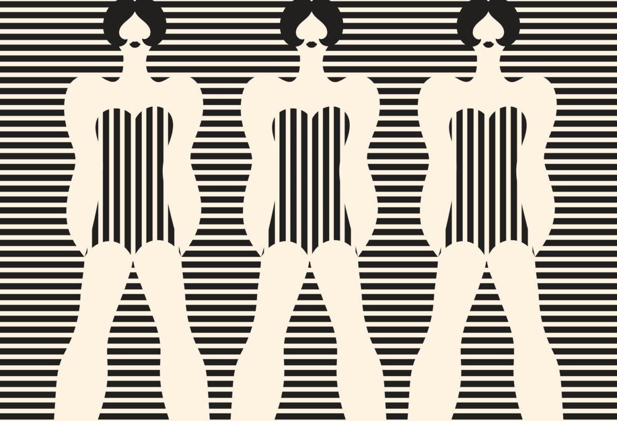 Olimpia Zagnoli, Three women, 2019, limited edition of 8 giclee prints on Somerset Velvet , 70×90 cm (1)