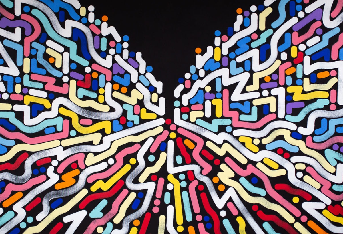 Yoon Hyup, Untitled, 2019, acrylic on canvas, 152×102 cm