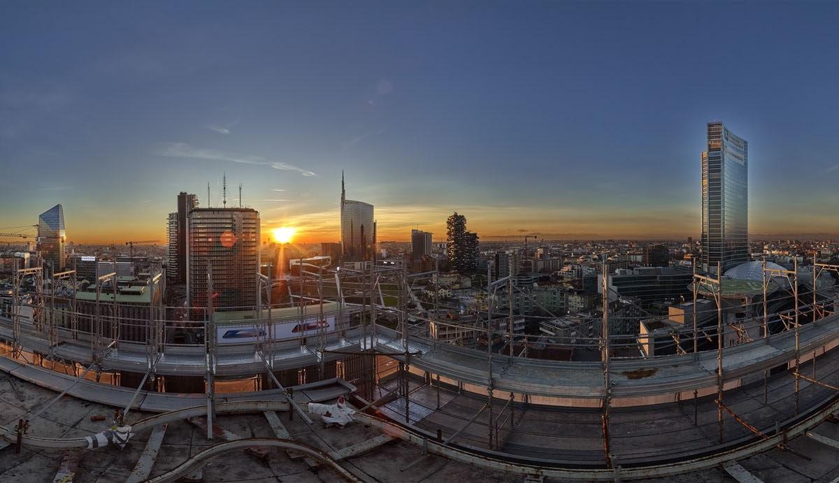 COIMA_DonatoDiBello_Porta Nuova Sunset.