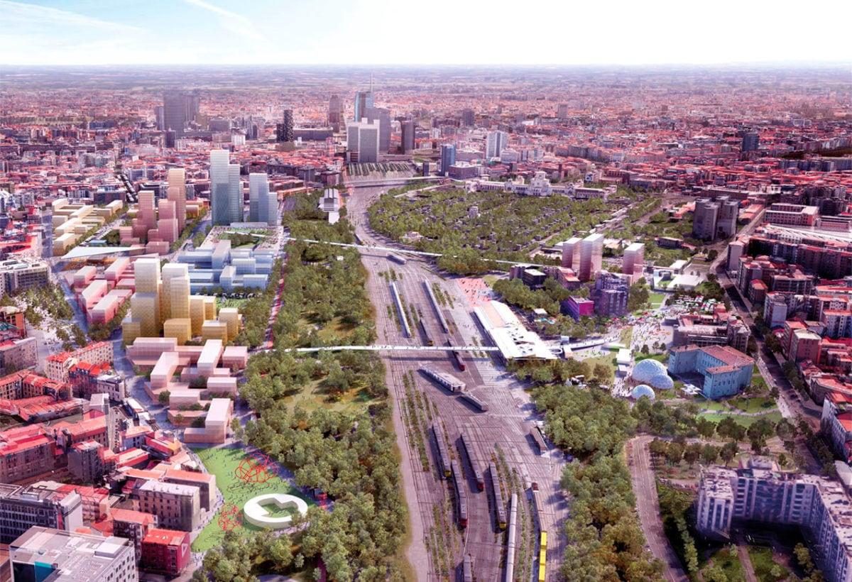 Milano_Scalo_Farini_Render_ Courtesy of Oma e Laboratorio Permanente