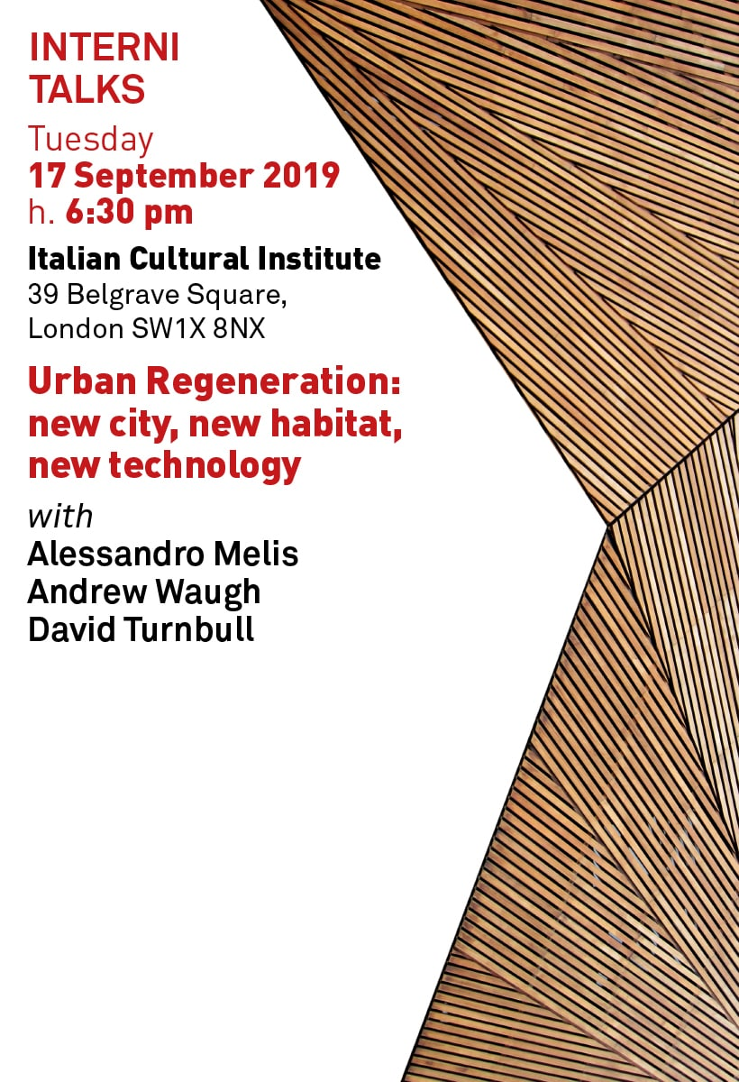 Urban Regeneration, talk in London