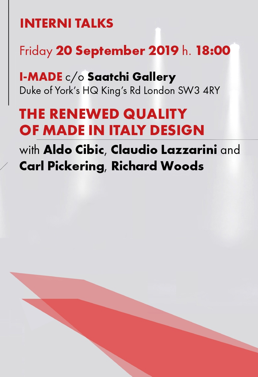 The excellence of made in Italy in London