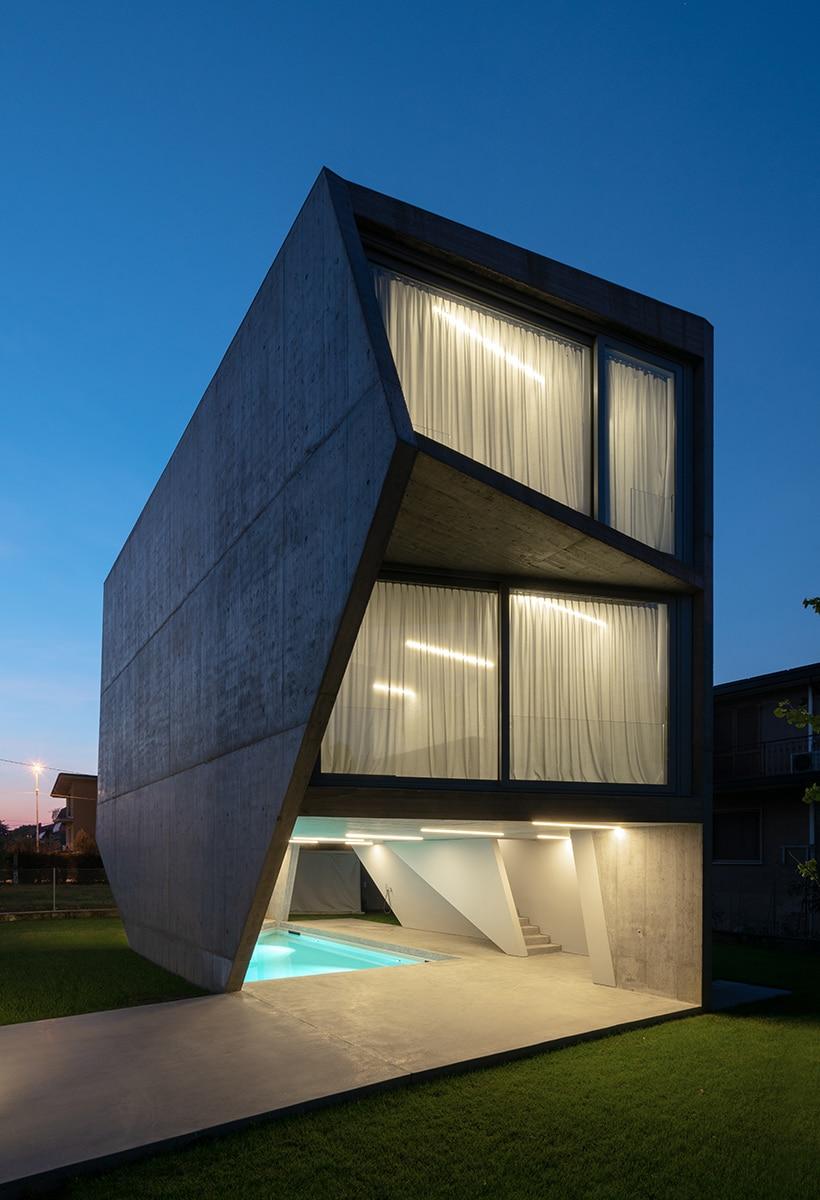 Casari Architetti, a rhapsody in concrete