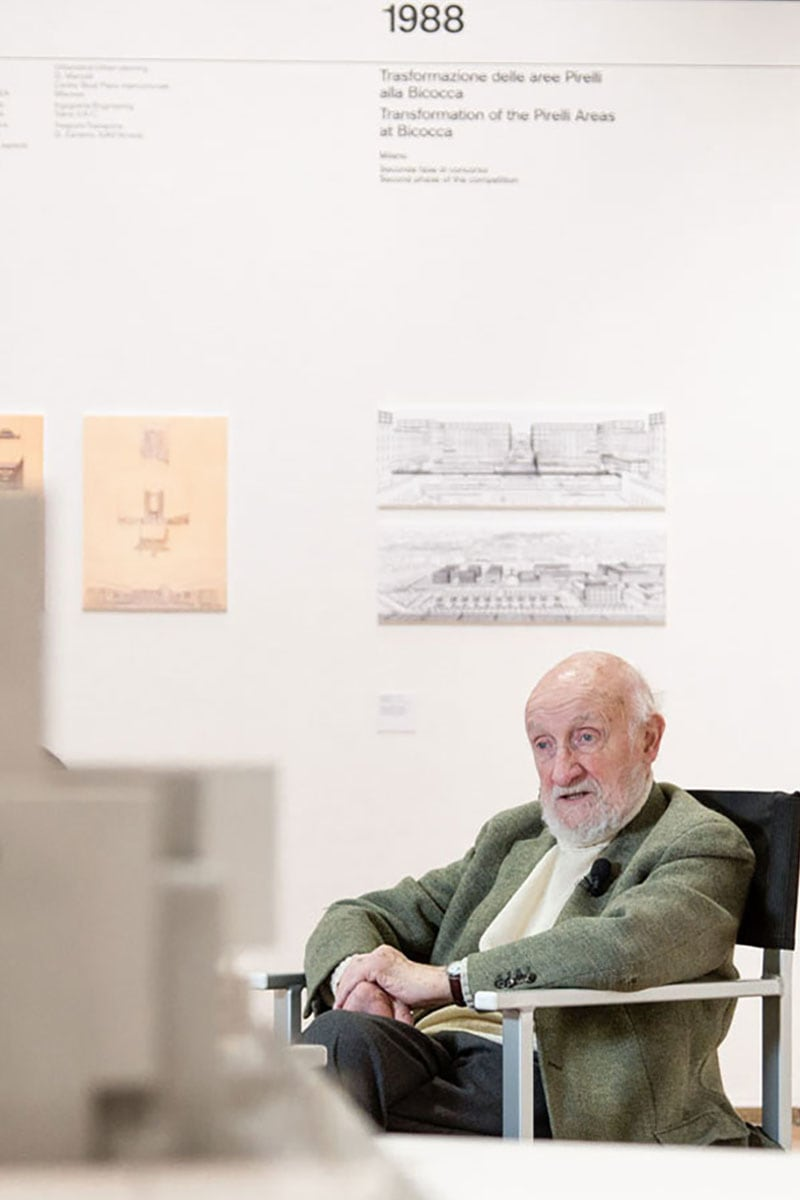 Vittorio Gregotti, the intellectual architect