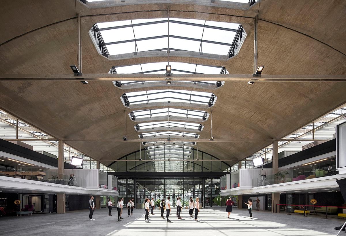 STATION F. Halle Freyssinet, Paris