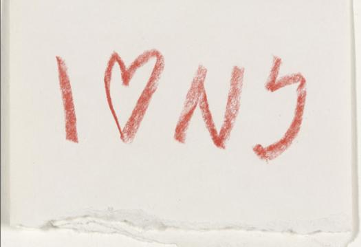 apertura_ Milton Glaser_Sketch I Love New York_1976_1_Courtesy of Milton Glaser