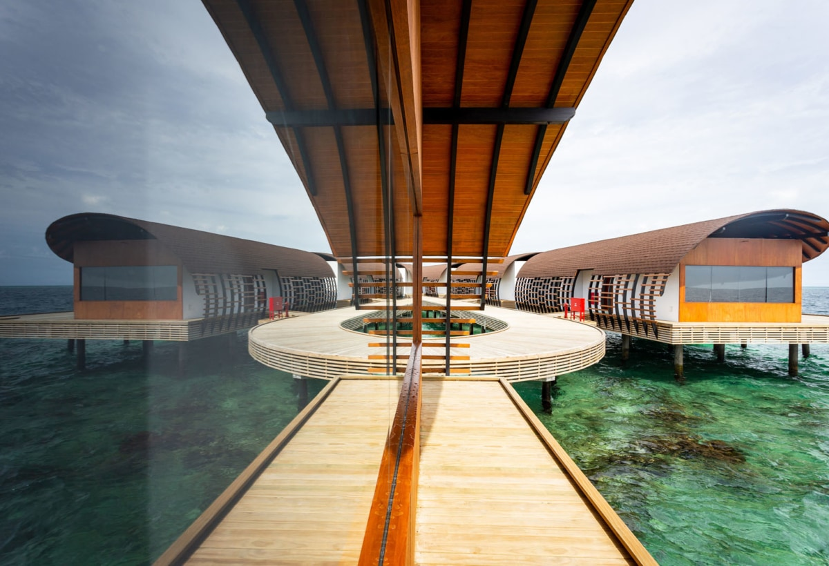 Peia Associati, Westin Maldives, photo courtesy Peia Associati