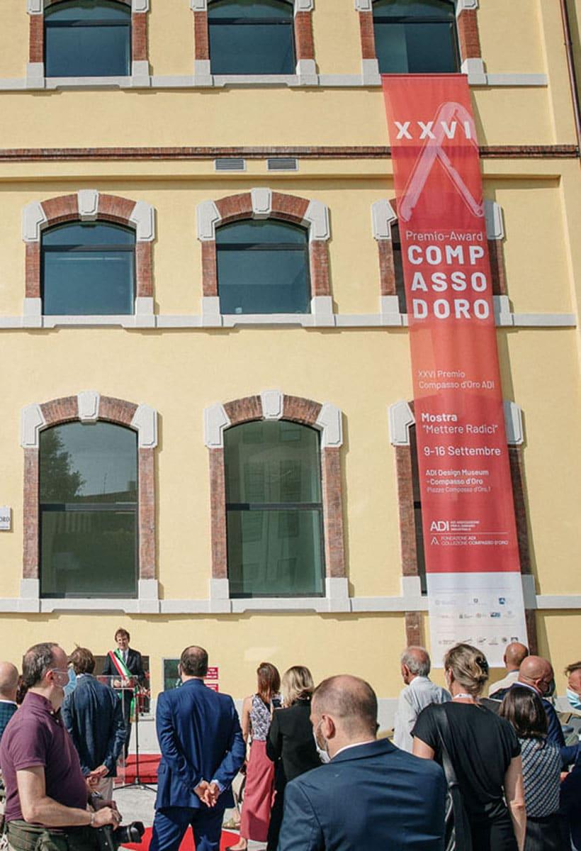 The XXVI Compasso d'Oro award