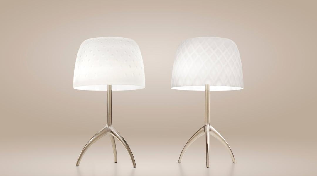 2_Lumiere 30th, lampada da tavolo, Rodolfo Dordoni